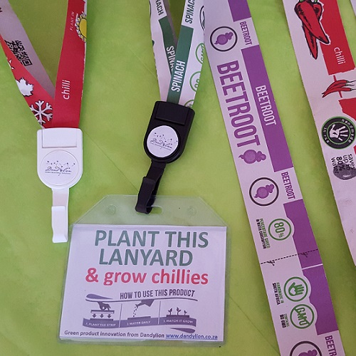 Plant and grow your lanyard